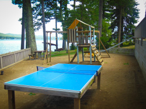 A family vacation resort on Lake George